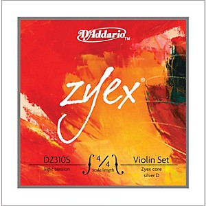 D-Addario-Zyex-4-4-Violin-String-Set-Silver-Light