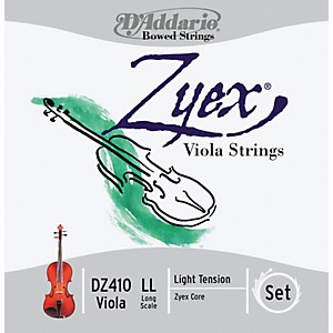 D-Addario-Zyex-4-4-Viola-String-Set-Long-Scale-Light