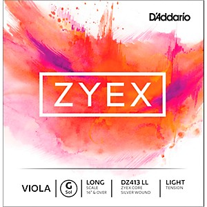 D-Addario-Zyex-Viola-String-G-Long-Scale-4-4-Silver-Light