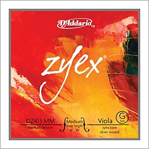 D-Addario-Zyex-4-4-Viola-String-G-Medium-Scale-Aluminum-Medium