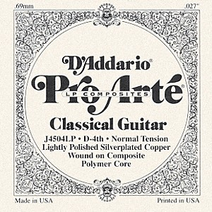 D-Addario-J45-D-4-Pro-Arte-Composites-Normal-LP-Single-Classical-Guitar-String-Standard
