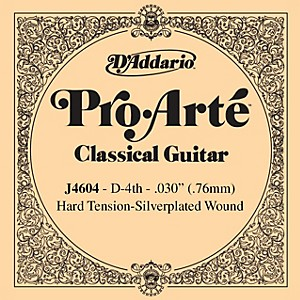 D-Addario-J46-D-4-Pro-Arte-SP-Hard-Single-Classical-Guitar-String-Standard