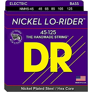 DR-Strings-Nickel-Medium-Lo-Riders-5-String-Bass-Strings-Standard