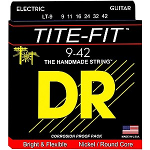 DR-Strings-Tite-Fit-LT-9-Lite-n-Tite-Nickel-Plated-Electric-Guitar-Strings-Standard