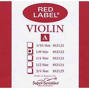 Super-Sensitive-Red-Label-Violin-A-String-1-8