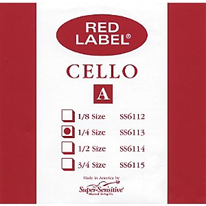 Super-Sensitive-Red-Label-Cello-A-String-1-4