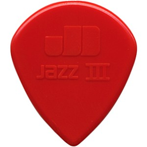 Dunlop-Nylon-Jazz-III-Guitar-Pick-Red-6-Pack