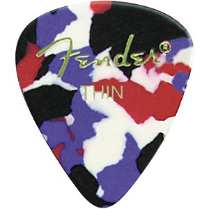 Fender-Classic-Celluloid-Confetti-Guitar-Pick-12-Pack-Thin-1-Dozen