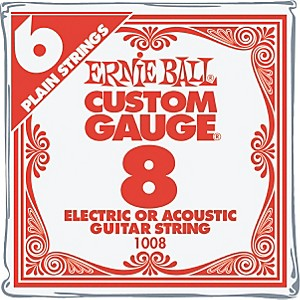 Ernie-Ball-Nickel-Plain-Single-Guitar-String--008-6-Pack
