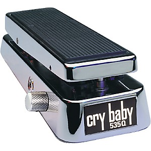 Dunlop-535QC-Chrome-Cry-Baby-Wah-Pedal-Standard