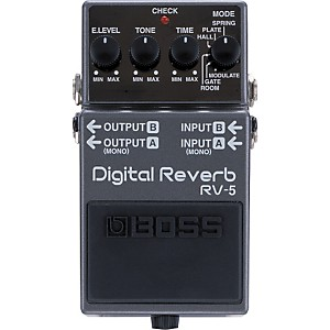 Boss-RV-5-Digital-Reverb-Effects-Pedal-Standard