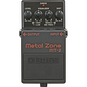 Boss-MT-2-Metal-Zone-Effects-Pedal-Standard