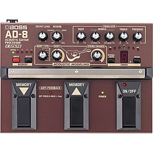Boss-AD-8-Acoustic-Guitar-Multi-Effects-Pedal-Standard