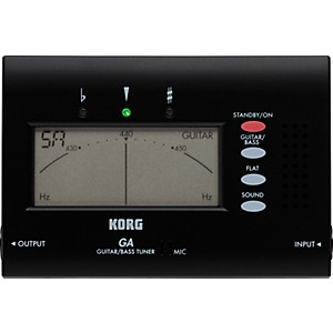 Korg-GA-40-Electronic-Guitar-and-Bass-Tuner-Standard