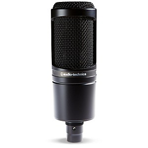 Audio-Technica-AT2020-Large-Diaphragm-Condenser-Microphone-Standard