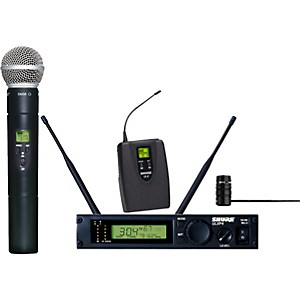 Shure-ULXP124-85-Combo-Handheld-Lavalier-Wireless-Microphone-System-M1