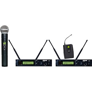 Shure-ULXP124-58-Dual-Channel-Mixed-Wireless-System-M1