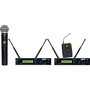 Shure-ULXP124-BETA58A-Dual-Channel-Mixed-Wireless-System-J1
