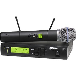 Shure-ULXS-Series-Beta-87A-J1-Wireless-Microphone-System-Black