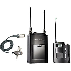Audio-Technica-ATW-1821-1800-Series-Dual-Channel-Camera-Mount-UHF-Wireless-System-Band-D