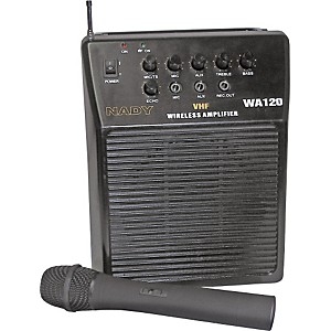 Nady-WA-120-Portable-PA-System-with-Wireless-Handheld-Mic-Channel-B