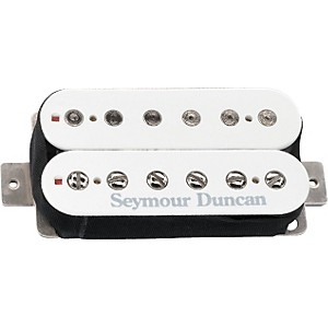 Seymour-Duncan-SH-6-Distortion-Humbucker-Pickup-White-Neck