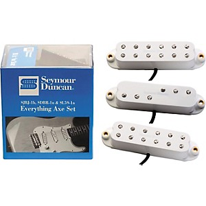Seymour-Duncan-Everything-Axe-Single-Coil-Electric-Guitar-Pickup-Set-White