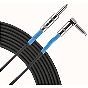Livewire-Advantage-Series-1-4--Angled---Straight-Instrument-Cable-1-Foot