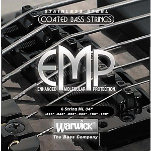 Warwick-ML6-EMP-COATED-6-String-Bass-Strings-Medium-Light-Standard