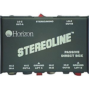 Rapco-Horizon-STL-1-Stereo-Line-Direct-Box-Standard