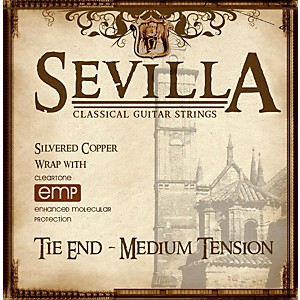 Sevilla-Classical-Guitar-Strings-Medium-Tension-Classical-Tie-On-Guitar-Strings-Standard