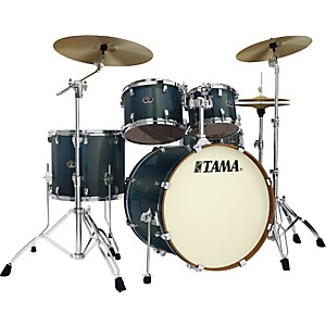 Tama-Silverstar-Accel-Driver-5-Piece-Shell-Pack-Blue-Chameleon-Sparkle