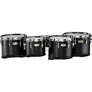 Pearl-PMTC-680234-Championship-Carbonply-Marching-Quint-Tom-Set--301-Carbon-Fiber-Matte-6-X-8