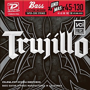 Dunlop-Robert-Trujillo-Icon-Series-Bass-Guitar-Strings---Uno-Mas-5-String-Set-Standard