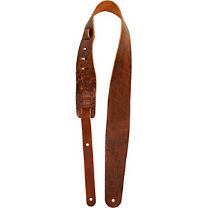 PLANET-WAVES-Blasted-Leather-Guitar-Strap-Brown