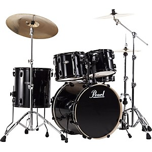 Pearl-VB-Vision-Birch-5-Piece-Shell-Pack-Jet-Black-with-Black-Hardware