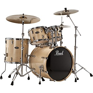 Pearl-VBL-Vision-Birch-5-Piece-Shell-Pack-Clear-Birch-with-Chrome-Hardware