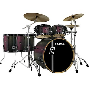 Tama-Superstar-Hyper-Drive-SK-6-Piece-Shell-Pack-Red-Chameleon-Sparkle