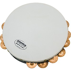 Grover-Pro-Projection-Plus-Double-Row-Tambourines-Custom-Dry-Copper-10-inch