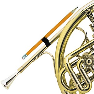 Gazley-French-Horn-Pencil-Clip-Black