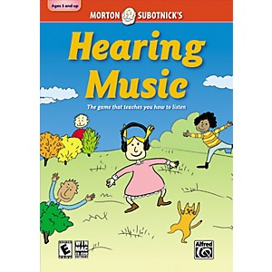 Alfred-Hearing-Music--CD-ROM-By-Morton-Subotnick-Standard