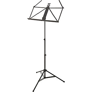 K-M-Ruka-Ultra-Lightweight-Music-Stand-Black