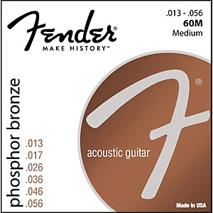 Fender-60M-Phosphor-Bronze-Acoustic-Strings---Medium-Standard