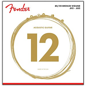 Fender-70L-80-20-Bronze-Acoustic-Strings---Light-Standard