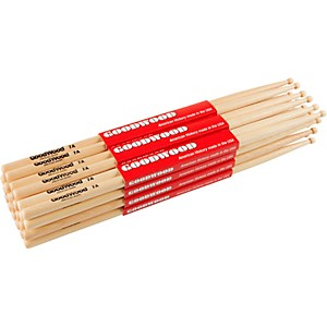 Goodwood-12-Pack-Drumsticks-7A-Wood