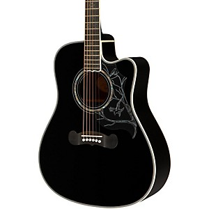 Epiphone-Dave-Navarro-Signature-Model-Acoustic-Electric-Guitar-Ebony