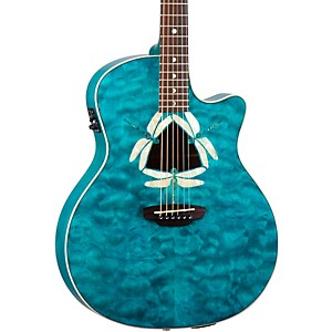 Luna-Guitars-Fauna-Dragonfly-Acoustic-Electric-Guitar-Quilted-Maple-Top-Standard