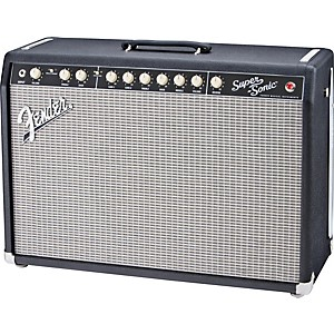Fender-Super-Sonic-60-60W-1x12-Tube-Guitar-Combo-Amp-Black