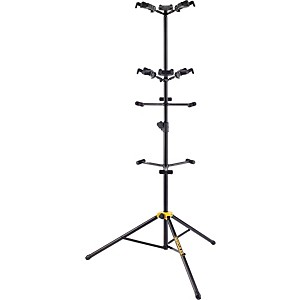 Hercules-Stands-GS526B-Guitar-Rack-with-6-Piece-Folding-Yokes-Standard