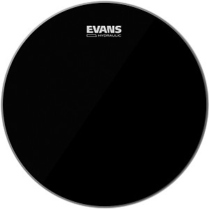 Evans-Hydraulic-Black-Tom-Batter-Drumhead-12-IN